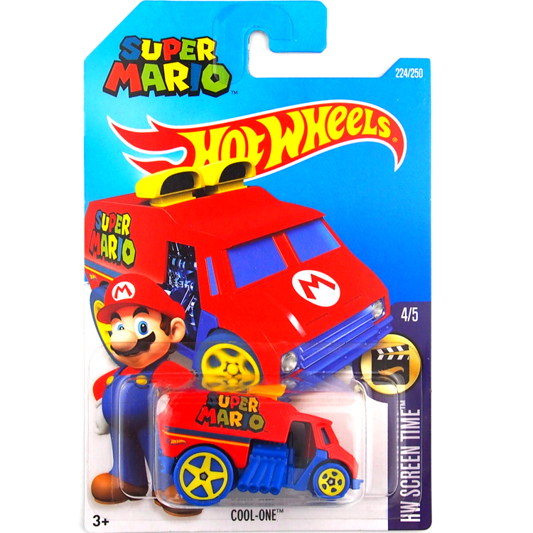 Free Shipping Hot Wheels 2016 super mario cool one cars Models Metal Diecast Car Collection Kids Toys Vehicle For Children(China (Mainland))