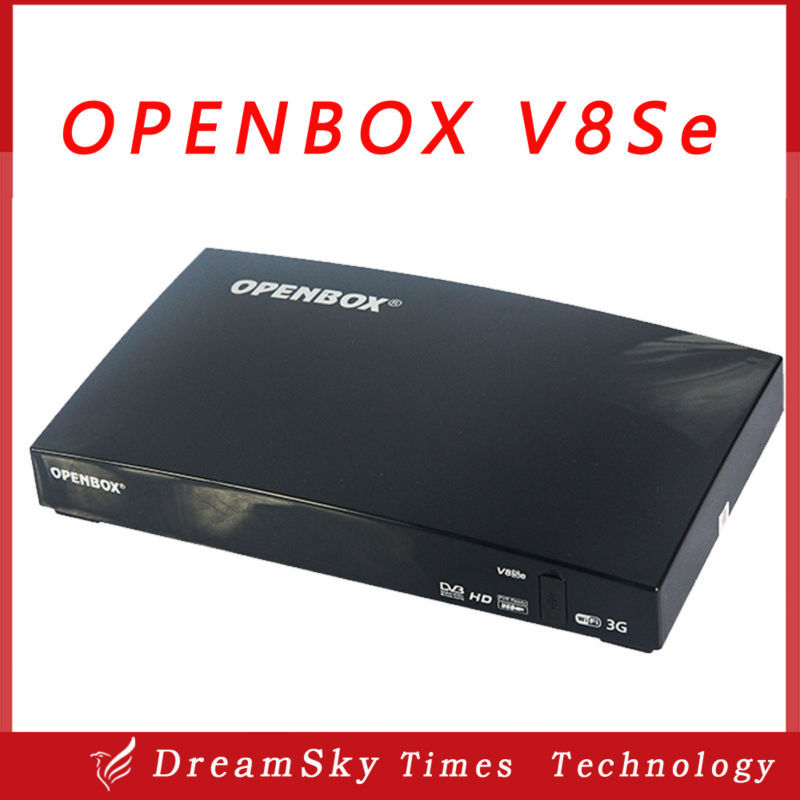 10pcs Original Openbox V8Se Digital Satellite Receiver AV HDMI Output with USB Wifi WEB TV Biss Key 2xUSB Youporn CCCAMD NEWCAMD(China (Mainland))