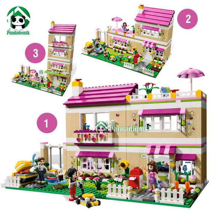 Vente en gros construire lego maison d 39 excellente qualit for Modele maison lego
