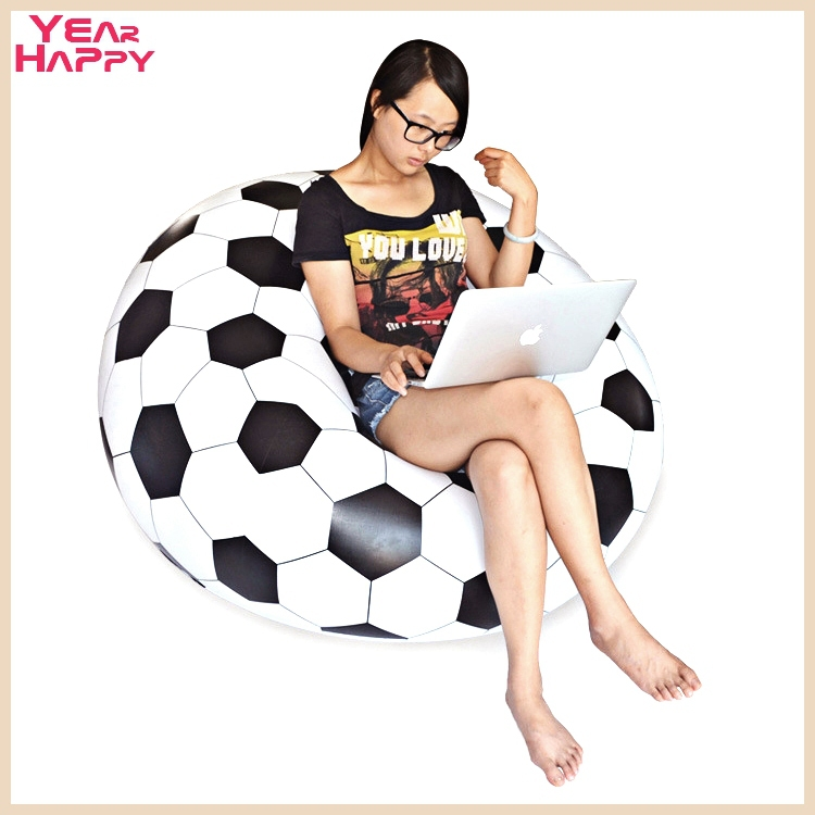 2015 Sillones Sofas Simple Inflatable Sofa Adult Football Chair Portable Outdoor Garden Corner Living Room Furniture110*110*80cm(China (Mainland))