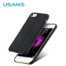 For iphone 7 case & iPhone 7 plus case cover usams Joe Series with Litchi lines Luxury PU Leather case for Apple iphone7(China (Mainland))