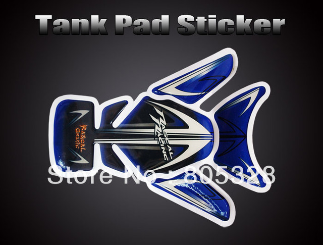MOTORCYCLE MOTOGRAFIX TANKPAD TANK DECAL STICKERS ST007