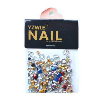 100Pcs/Pack Diy Design Manicure Jewelry Decoration Tool Perfect Use For Nail Salon (KaTou-59)