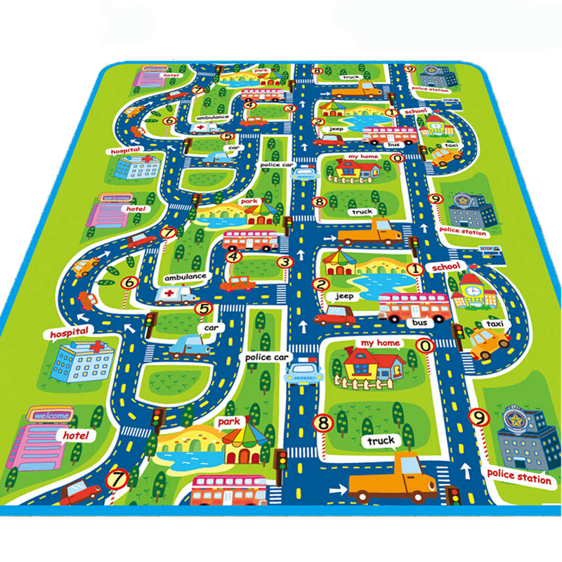 imwei City Road Carpets For Children Play Mat For Children Carpet Baby Toys Rugs Developing Play Puzzle Mat Mats Goma Eva Foam(China (Mainland))
