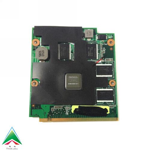 MXM II VGA Card NVIDIA 9650M GT DDR2 1GB for Asus G50V M50 M50VC M50V M50VM Laptop(China (Mainland))
