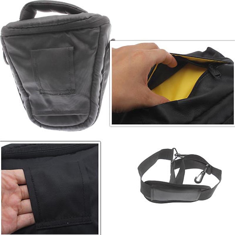 Free Shipping Top Quality EA14 Waterproof DSLR Camera Bag Case for Nikon D7000 D90 D3100 D5100