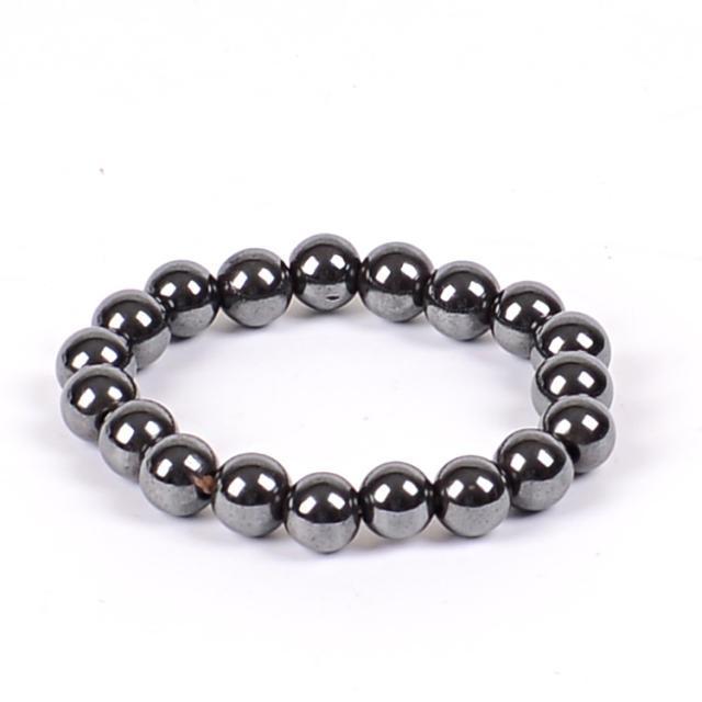 Black Stone Magnetic Bracelet