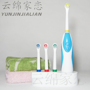 Massage electric toothbrush rotary toothbrush 4 brush head