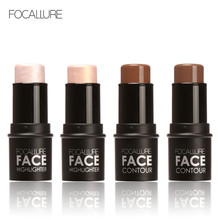 Focallure Bling Highlighter Sticker All Over Shimmer Highlighting Powder Creamy Texture Water-proof Silver Shimmer Light