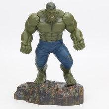Infinito guerra verde vermelho hulk 25cm super-herói figura vingadores incrível endgame hulk articulações moveable ação modelo brinquedos(China)