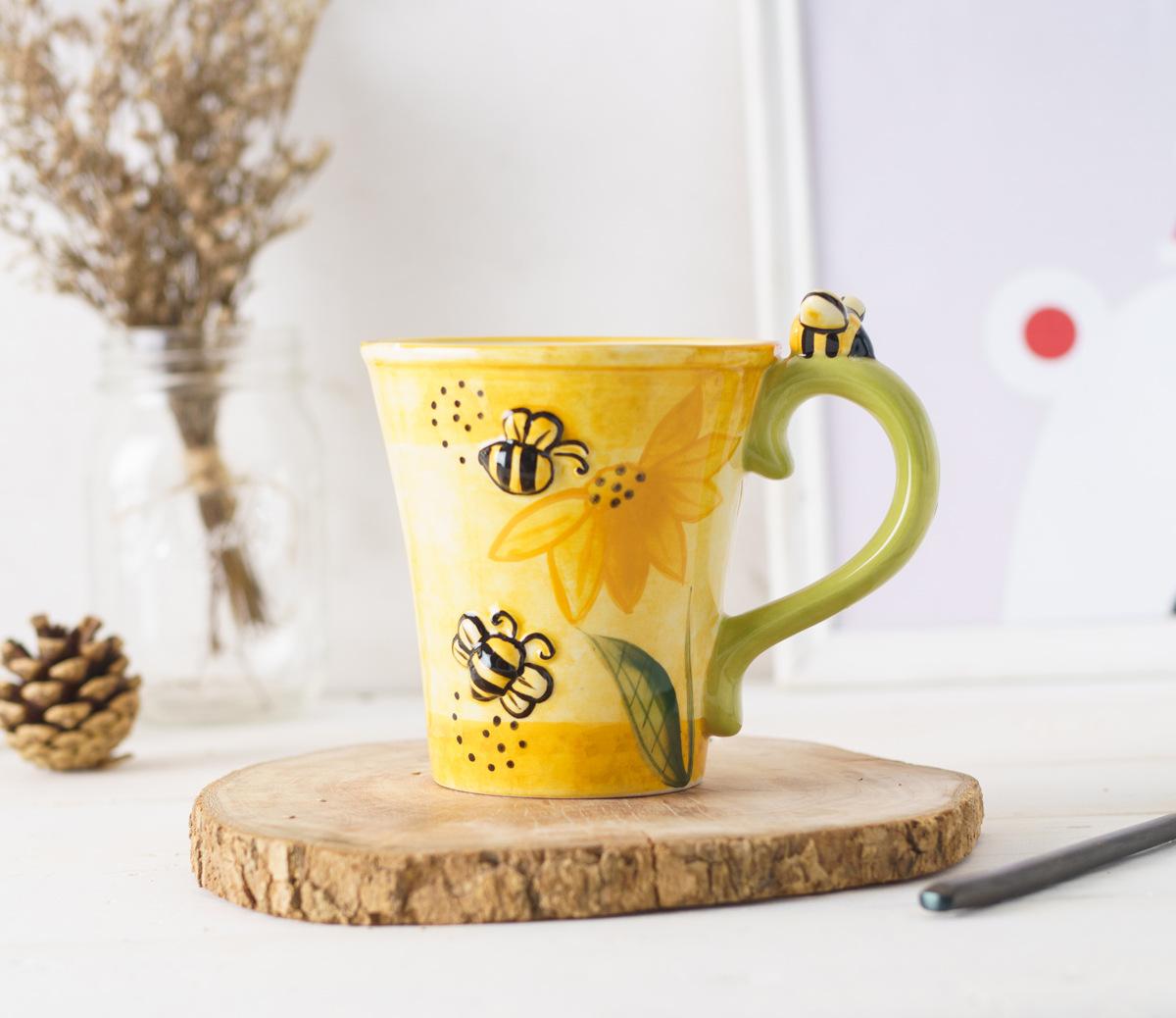 Online Buy Wholesale Bee Mug From China Bee Mug