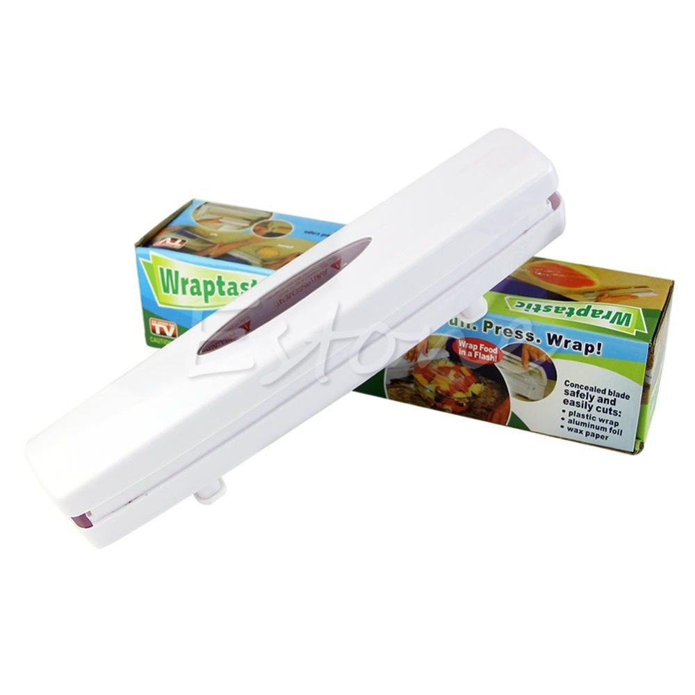 Wrap Dispenser Kitchen Plastic Wrap Dispenser