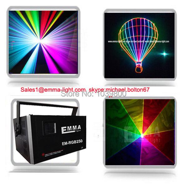 3W RGB ILDA programable Laser Pro Lighting RGB Full Color Animation pro DJ Review(China (Mainland))