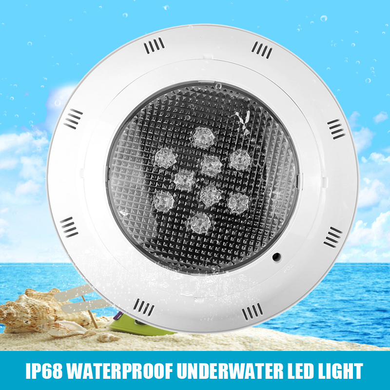 9W 12V High Power Underwater LED Swimming Pool Wall Light Lamp RGB Color Changing ountain Spotlight Lamp With Remote Control(China (Mainland))