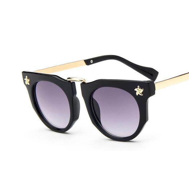 Летний стиль детская ребенок солнце солнцезащитные очки для тени мальчик дети милые Cateye солнцезащитные очки девушка uv400 ребенка очки для