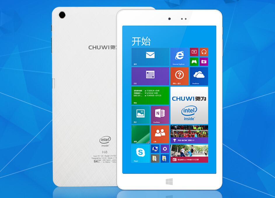 Newest! Original Chuwi Hi8 Dual Boot Tablet PC Z3736F Quad Core 2GB 32GB 8 inch 1920x1200 Bluetooth 4.0 Windows 8.1 Android 4.4<br><br>Aliexpress