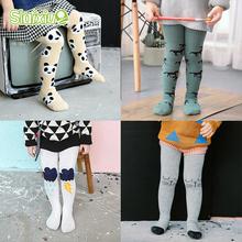 Pantyhose Kids Tights Stocking Warm Cotton Children Baby Girls Boy Tights Winter Stockings Toddler Pantyhose For 0-3 Years