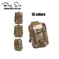 Army men purse hanging bags belt fanny pack waist bag wallet belt mobile phone bag travel