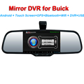 5 inch Car Rear Mirror DVR GPS Bluetooth WIFI SD for Buick Enclave Lucerne Encore Excelle