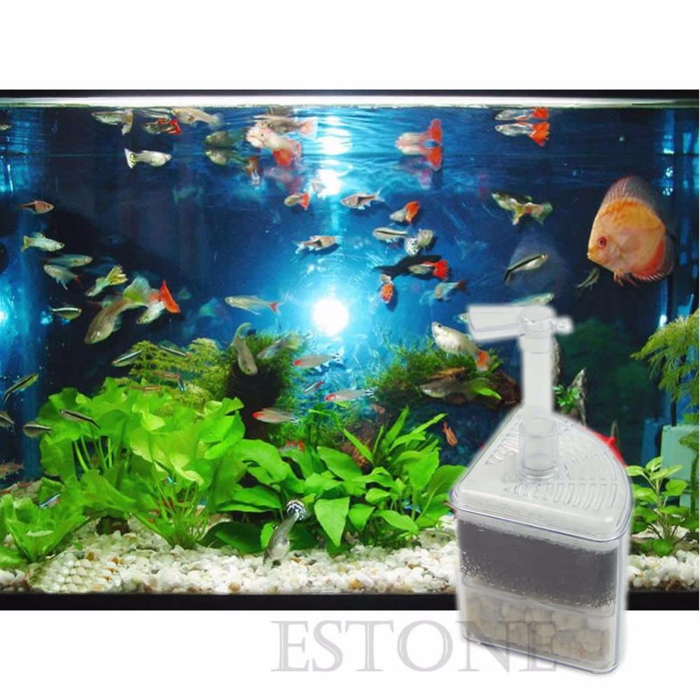seful Biochemical Air Driven Corner Sponge Filter Fry Shrimp Aquarium Fish Tank - Phone Super Market store