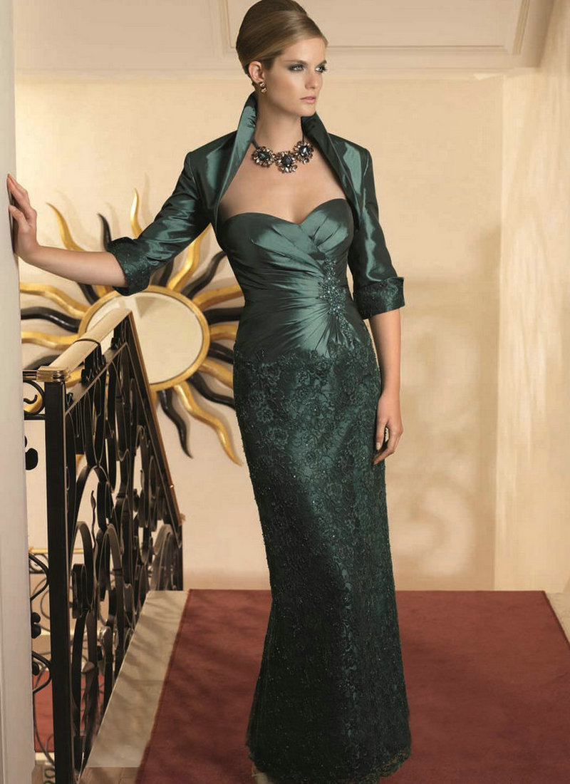Green Mother Of The Bride Dresses - Qi Dress