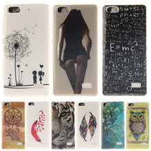 Buy Dandelion lovers Pattern Slim Silicone Soft TPU IMD Crafts Phone Back Cover Case For Huawei Honor 4C C8818 Huawei G Play Mini for $1.50 in AliExpress store