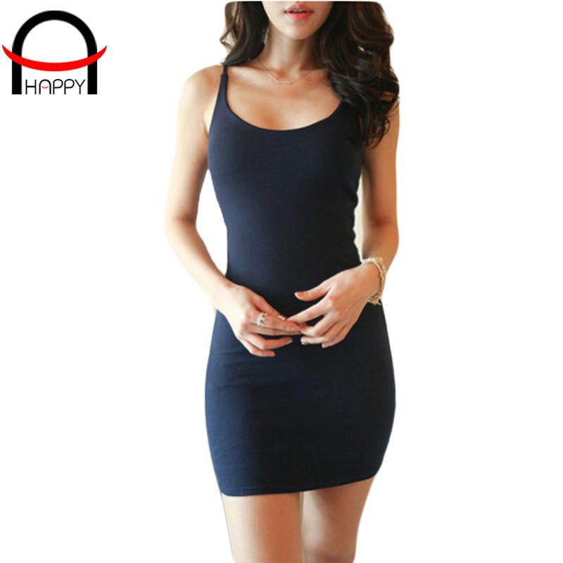 Sexy Desigual mujeres vestido ajustado de algodón de espagueti strape ropa mujer solid mujeres se visten atractivo del club del vestido 2015 ropa barata de china(China (Mainland))