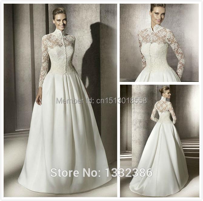 Modern mantels bing images for Long sleeve turtleneck wedding dress