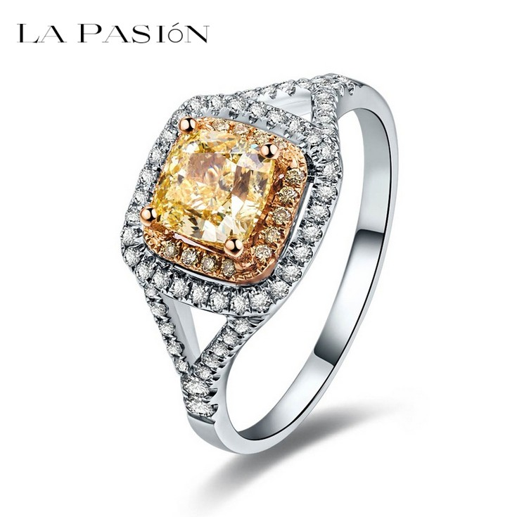 line Get Cheap Cushion Cut Halo Engagement Rings Aliexpress