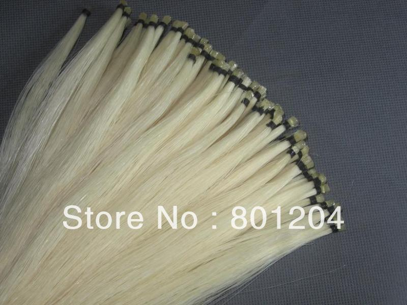6 hanks 80-83cm violin bow hair horse hair Natural Mongolia horsetails
