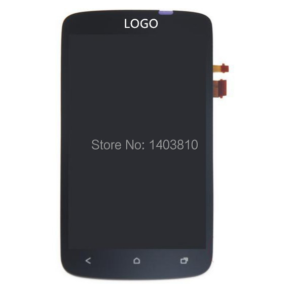 Free shipping Original Tmobile For HTC One S Front Housing LCD Touch Glass Digitizer Screen Assembly OEM(China (Mainland))