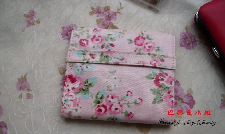 Free Shipping Korean Fresh wave cotton Tampon pads sanitary Pad napkin bag Dots sanitary Towel Change Coin Purse Storage Bag(China (Mainland))