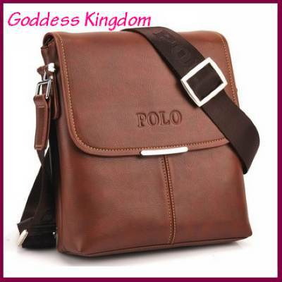 free shipping hot sell high quality fashion pu leather messenger bags for men new casual men