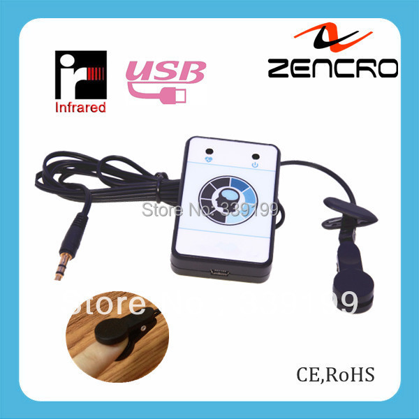 Hot Sell Computer USB Ear Clip Heart Beat Monitor(China (Mainland))