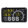 Free Shipping Car OBD II HUD Speedometer Odometer Voltage Head Up Display MPH KMH ME3L