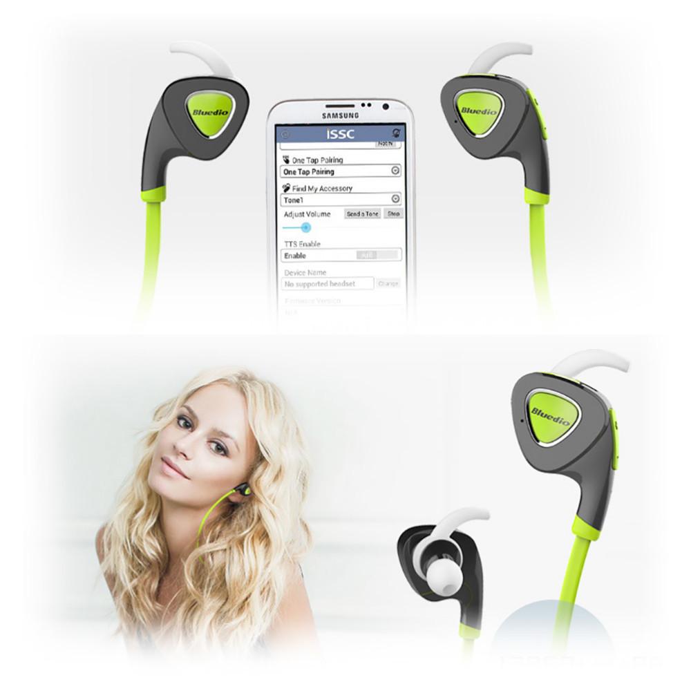 Bluedio Bluetooth Headset Stereo Wireless 4.1 Binaural Headphone Waterproof Sport Earphones Samsung iPhone - BOAS store