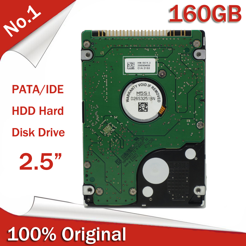 "Brand new Original IDE 2.5"" 160GB 5400RPM Laptop Notebook PATA IDE HDD Internal Hard Disk sealed package(China (Mainland))"