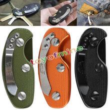 New Quality Aluminum Key Holder Organizer Clip Keysmart Folder Keyring Case EDC Pocket Porta Chaves Outdoor Camping Tool(China (Mainland))