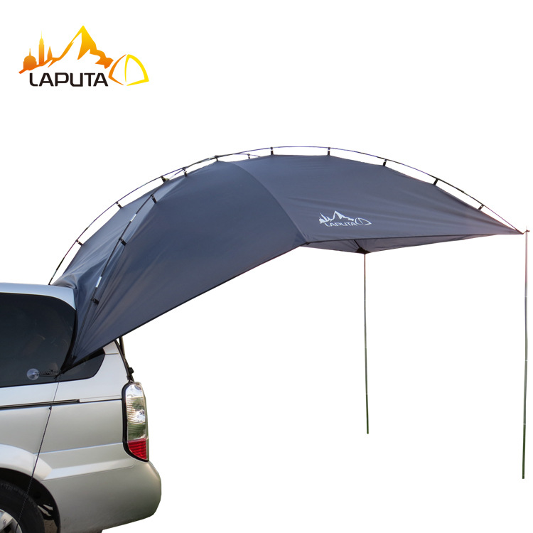 5-8 person waterproof casual outdoor shelter tent car gear large shade tents truck bed Camping tents gazebo camping equipment(China (Mainland))