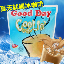 Indonesia imported good day to day Cool refreshing mint triad instant coffee 600 g free shipping