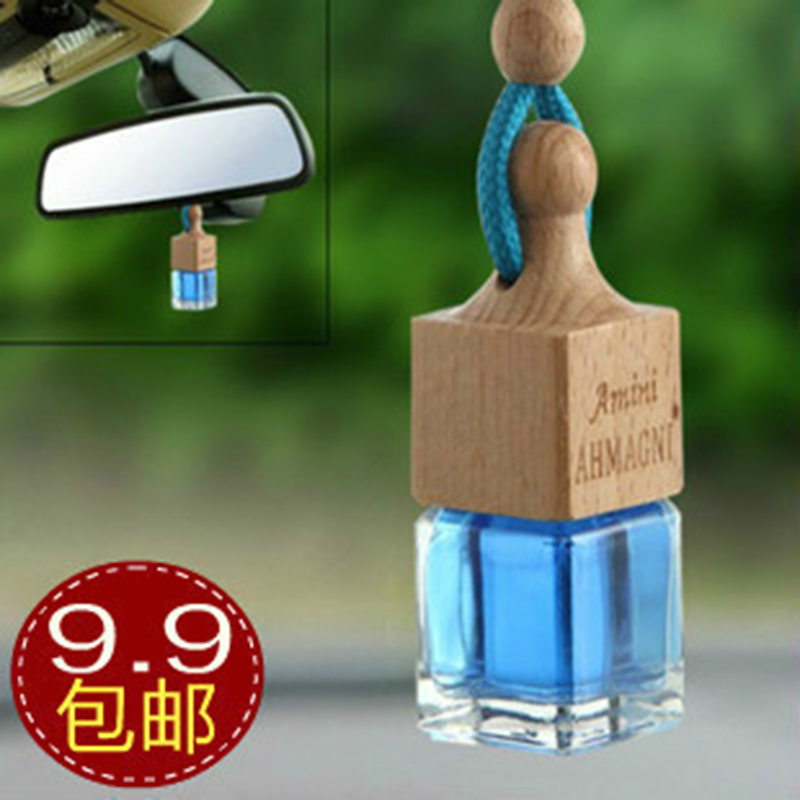 Car perfume car perfume hanging perfume bottle essential oil aromatherapy car fragrance(China (Mainland))