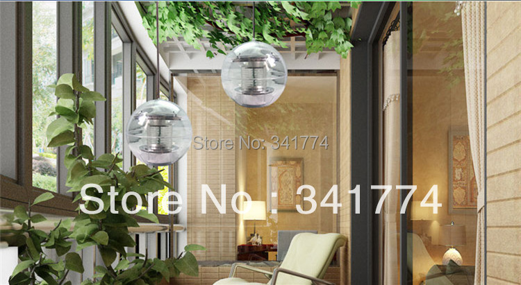 LED Solar Panel Powered Ball Pond Lawn Path Fence Wall Lamps Sunlight Driveway For Christmas New Year Garden Outdoor Decoration<br><br>Aliexpress