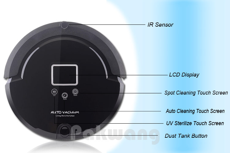 Powerful Cleaning A320 Robot Floor Sweeper, Intelligent Robot Vacuum Cleaner,robot Vacuum Cleaner(China (Mainland))