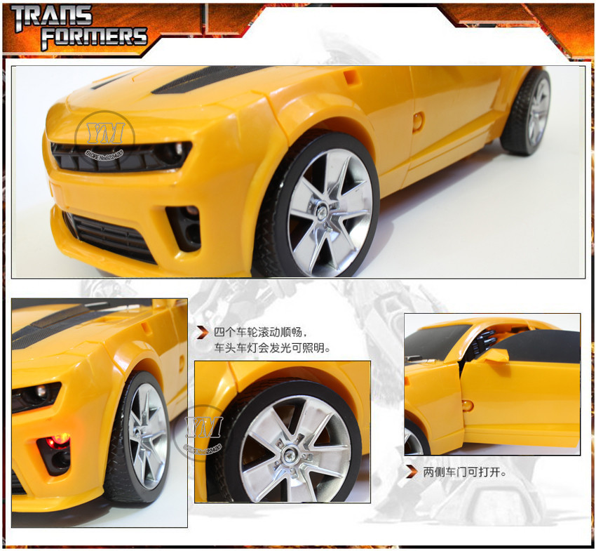 a5 Action Figure toys 42cm robot Bumblebee Robocar car model