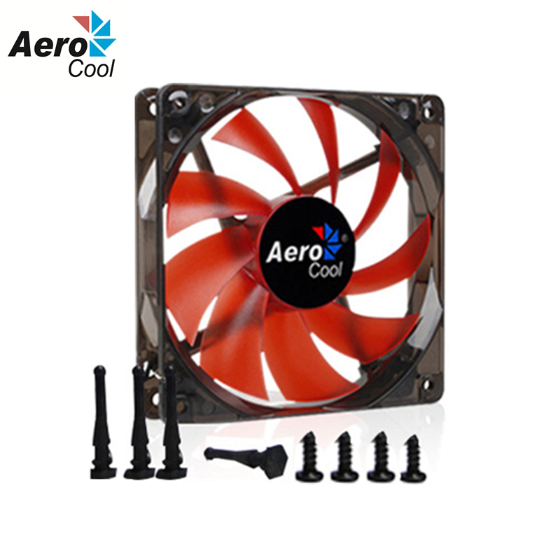 Aerocool 120mm Fan PC Case Cooling Fan 120 MM 12V 3pin &4pin 12cm Computer Silent Fan Simple Version(China (Mainland))