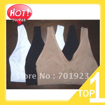 Free shipping 2014 new hot sale womens leisure Seamless Comfortable yogo sports Bra similar to Ahh / Genie 1pcs Y3002