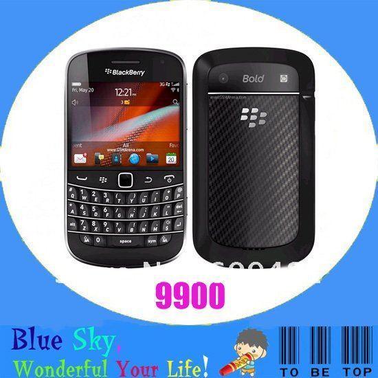 Hot phone Original Blackberry bold 9900 Unlocked BB 9900 Free shipping