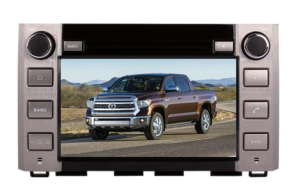 2 Din Car head unit for Tundra 2014 2015 GPS TV 3G Radio Bluetooth Wheel control support 3G 1080P(China (Mainland))