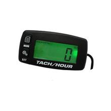 Digital Resettable backlight HourMeter Tachometer For Motorcycle Marine Boat ATV Snowmobile Generator Mower outboard motocross.
