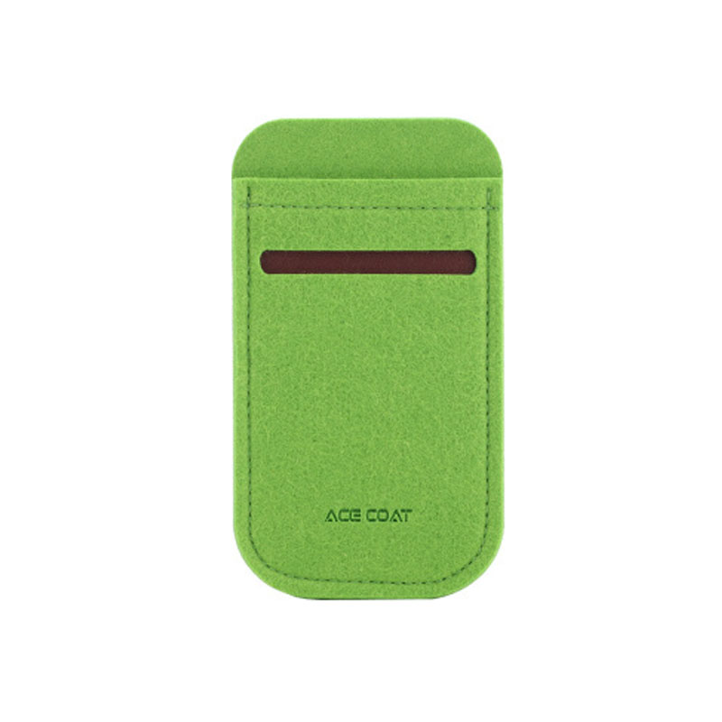 Wood Meets Color Original Series Phones Storage Felt Bag 6plus Mobile Phone Cases 6s 5s Free Shipping Green Anti-knock(China (Mainland))
